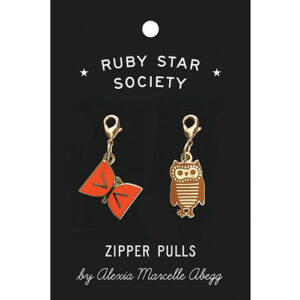 Alexia Zipper Pulls 2 Ct. By Ruby Star Society For Moda - Multiple Of 3
