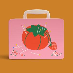 Strawberries Snackbox By Ruby Star Society For Moda - Multiple Of 6