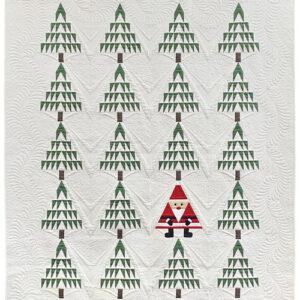 Bella Solids - Santa In The Pines Kit By Moda
