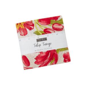 Tulip Tango Charm Packs By Moda - Packs Of 12