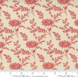 Bonheur De Jour By French General For Moda - Pearl - Rouge