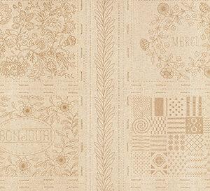 "Bonheur De Jour Mochi Linen 24"" X 44"" Panel By French General For Moda - Roche"
