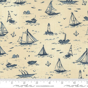 To The Sea By Janet Clare For Moda - Pearl