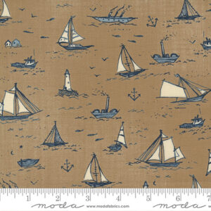 To The Sea By Janet Clare For Moda - Sand