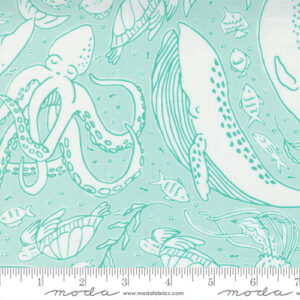 The Sea And Me By Stacy Iest Hsu For Moda - Seafoam