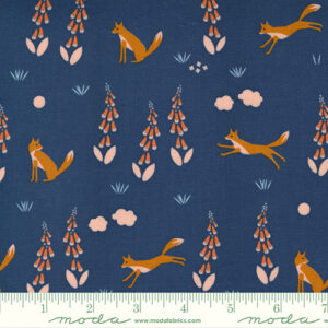 Meander By Aneela Hoey For Moda - Navy