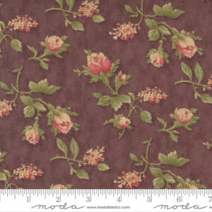 Threads That Bind By Blackbird Designs For Moda - Rhubarb