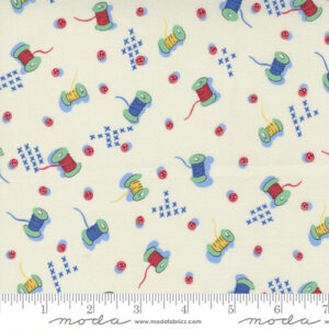 30\'s Playtime By Chloe\'s Closet For Moda - Eggshell - Primary