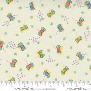 30\'s Playtime By Chloe\'s Closet For Moda - Eggshell - Pastel