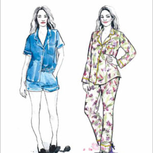 Carolyn Pajamas Pattern By Closet Case Patterns For Moda