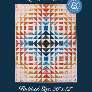 King Dash Pattern By Satterwhite Quilt For Moda - Min. Of 3