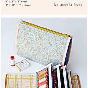 Booklet Pouch Pattern By Aneela Hoey For Moda - Min. Of 3