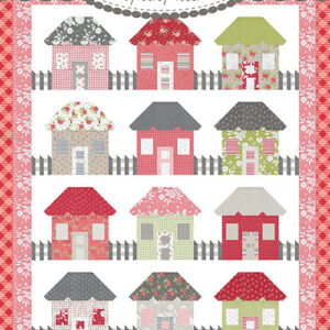 Picket Fence Cottages Pattern By Corey Yoder For Moda - Min. Of 3