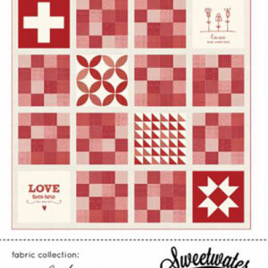 Love Lives Here Pattern By Sweetwater For Moda - Min. Of 3
