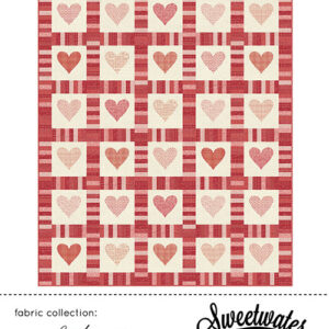 Cross My Heart Pattern By Sweetwater For Moda - Min. Of 3