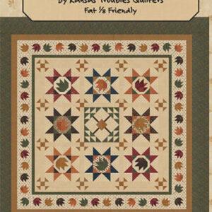 Maple Leaf Shuffle Pattern By Kansas Troubles For Moda - Min. Of 3