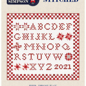 Stitched Pattern By Minick & Simpson For Moda - Min. Of 3