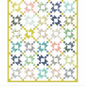 Positive Charge Pattern By Clark Street Quilt For Moda - Min. Of 3
