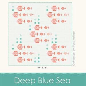 Deep Blue Sea By Stacy Iest Hsu For Moda - Min. Of 3