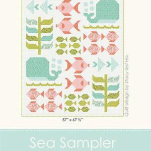 Sea Sampler Pattern By Stacy Iest Hsu For Moda - Min. Of 3
