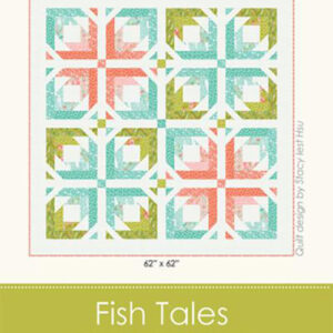 Fish Tales Pattern By Stacy Iest Hsu For Moda - Min. Of 3