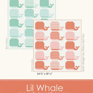 Lil Whale Pattern By Stacy Iest Hsu For Moda - Min. Of 3