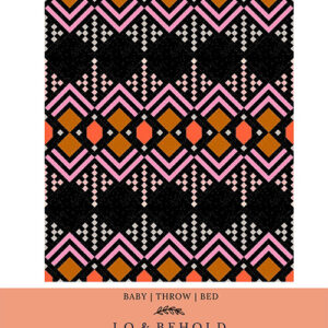 Deco Pattern By Lo & Behold Stitchery For Moda - Minimum Of 3