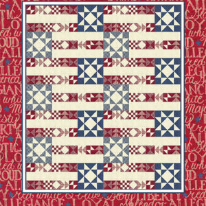 Flag Day Pattern By Coach House Desing - Minimum Of 3