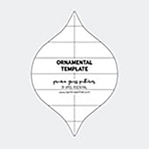 Ornamental Template By Prairie Grass Patterns For Moda - Min. Of 2