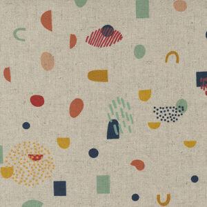 Frisky By Zen Chic For Moda - Mochi Linen - Natural