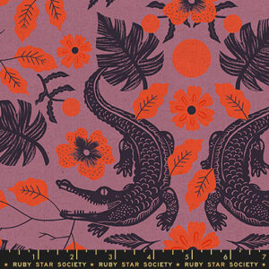 Florida Volume 2 By Sarah Watts Of Ruby Star Society For Moda - Canvas  - Lupine