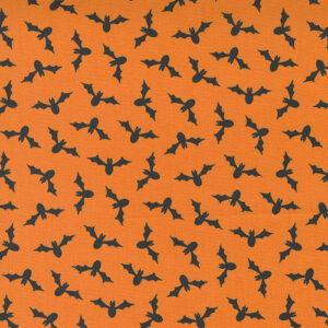 Too Cute To Spook By Me & My Sister For Moda - Orange Pumpkin