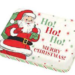 """Holly Jolly Ho Ho Ho - Ho Ho Small Tin 3.5"""" X 4.5"""" X 0.75"""" By Moda - Multiple Of 24"""